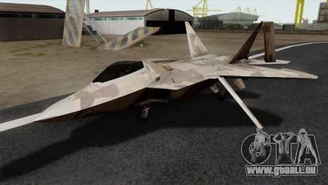 F-22 Raptor 02 pour GTA San Andreas