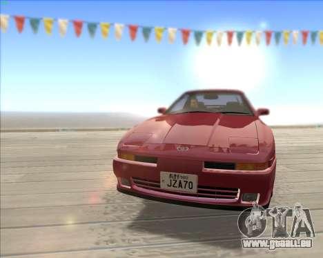 Toyota Supra 2.0GT MK3 pour GTA San Andreas vue intérieure