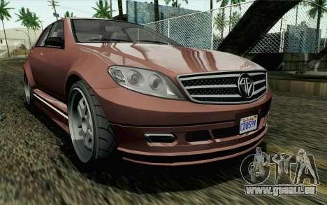 GTA 5 Benefactor Schafter SA Mobile für GTA San Andreas