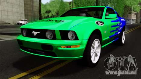 Ford Mustang GT Wheels 2 für GTA San Andreas