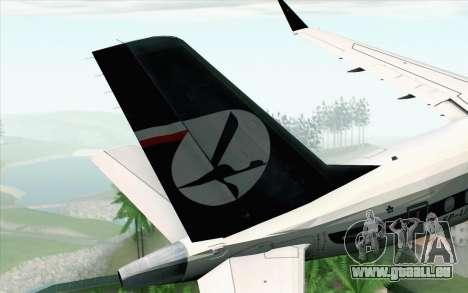Embraer EMB-175 LOT Polish Airlines 600th E-Jet pour GTA San Andreas sur la vue arrière gauche