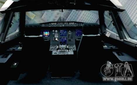Airbus A340-300 Luftwaffe Konrad Adenauer pour GTA San Andreas vue arrière