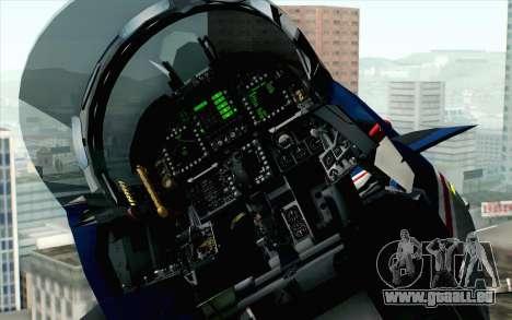 F-18D RAAF 20th Anniversary pour GTA San Andreas vue arrière