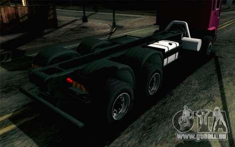 DFT-30 New pour GTA San Andreas vue arrière