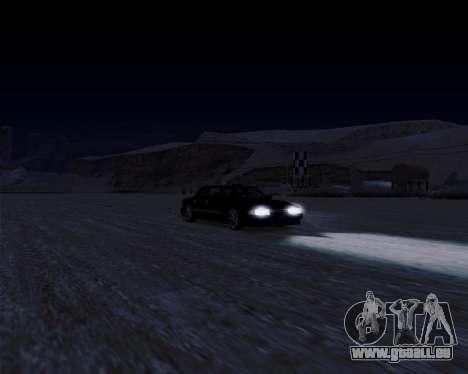 LineFlex ENBseries pour GTA San Andreas quatrième écran