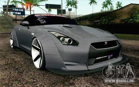 Nissan GT-R 2014 RocketBunny pour GTA San Andreas