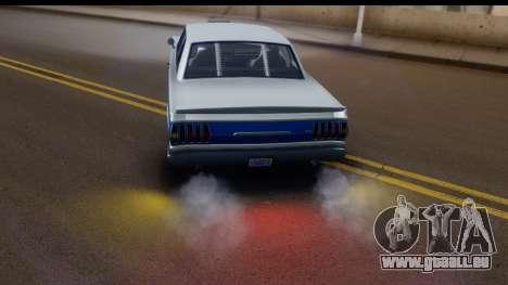 GTA 5 Vapid Blade v2 IVF für GTA San Andreas Innenansicht