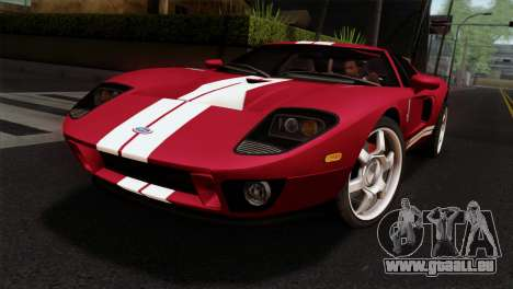 Ford GT FM3 Rims für GTA San Andreas