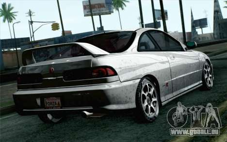 Acura Integra Type R 2001 Stock für GTA San Andreas linke Ansicht