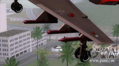 Shuttle v1 (wheels) pour GTA San Andreas vue de droite