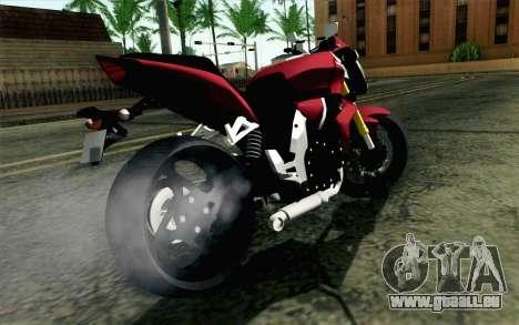 Honda CB1000R pour GTA San Andreas laissé vue