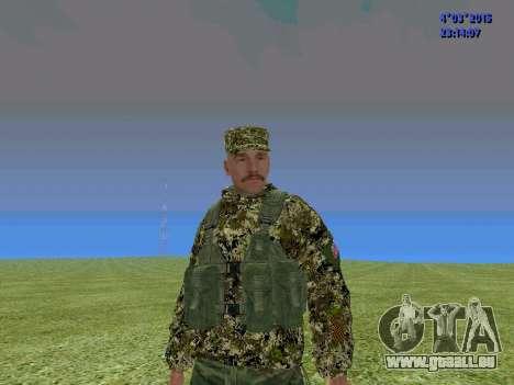 Soldat du bataillon de la Somalie pour GTA San Andreas