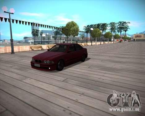 BMW 5-series E39 Vossen pour GTA San Andreas
