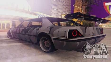 Vincent 3.0 für GTA San Andreas zurück linke Ansicht