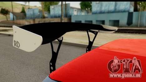 Drift Elegy Edition pour GTA San Andreas vue arrière