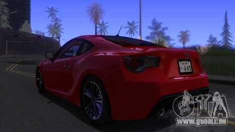 Scion FR-S 2013 Stock v2.0 für GTA San Andreas linke Ansicht