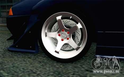 Elegy GP Sports G-SONIC EVO Kit pour GTA San Andreas sur la vue arrière gauche