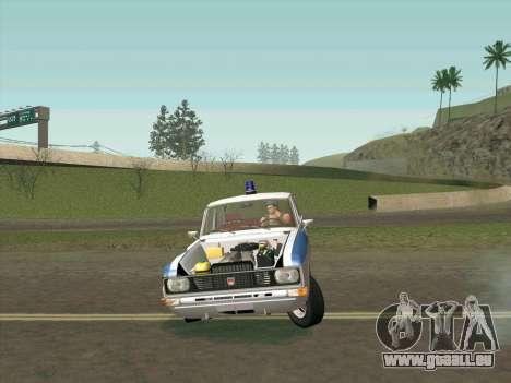 Moskvich 2140 Police pour GTA San Andreas salon