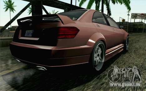GTA 5 Benefactor Schafter SA Mobile pour GTA San Andreas laissé vue