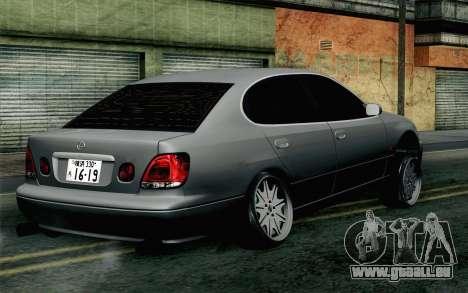 Lexus GS 300 pour GTA San Andreas laissé vue