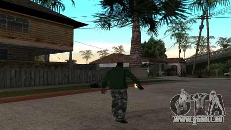 Die Neue Molotow-Cocktail für GTA San Andreas dritten Screenshot