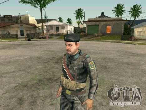 Cine des forces spéciales de l'URSS pour GTA San Andreas deuxième écran