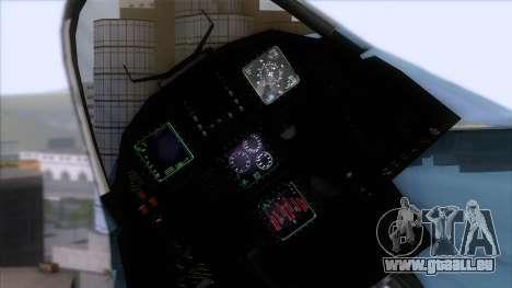YF-23 JASDF pour GTA San Andreas vue de droite