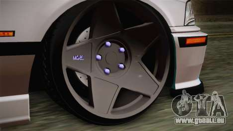 BMW E36 M3 Cabrio für GTA San Andreas zurück linke Ansicht