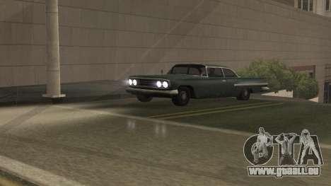 Straße Reflexionen Update 1.0 для GTA San Andrea für GTA San Andreas her Screenshot