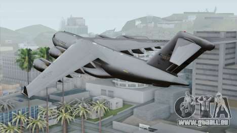 C-17A Globemaster III USAF Mississippi pour GTA San Andreas laissé vue