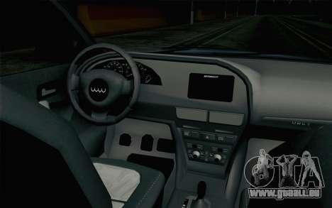 GTA 5 Obey Tailgater v2 IVF pour GTA San Andreas vue de droite