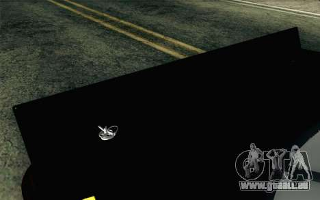 NASCAR Toyota Camry 2012 Short Track für GTA San Andreas Rückansicht