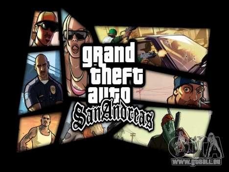 Menü HD für GTA San Andreas