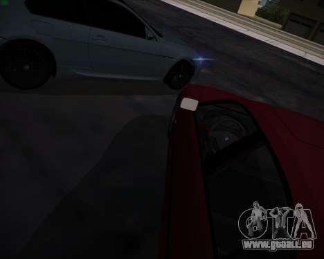 BMW 5-series E39 Vossen pour GTA San Andreas moteur