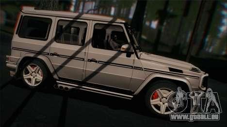 Mercedes-Benz G65 2013 Hamann Body pour GTA San Andreas vue de droite