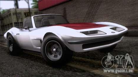 GTA 5 Invetero Coquette Classic TL für GTA San Andreas