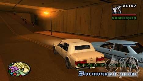 Pour augmenter ou diminuer le radar dans GTA V pour GTA San Andreas