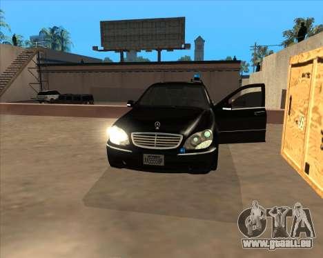 Strobe-Leuchten v3 für GTA San Andreas