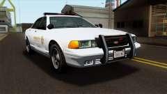 GTA 5 Vapid Stanier Sheriff SA Style