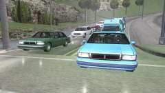 Straße Reflexionen Update 1.0 для GTA San Andrea