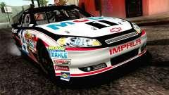 NASCAR Chevrolet Impala 2012 Plate Track