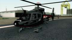 NFS HP 2010 Police Helicopter LVL 3 für GTA San Andreas