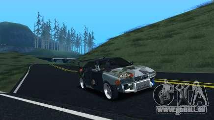 Toyota Chaser Tourer V Fail Crew für GTA San Andreas