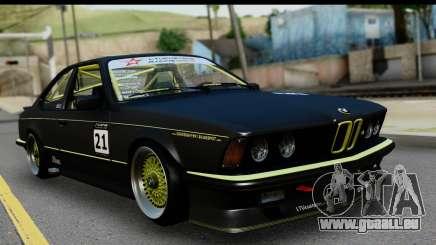 BMW M635 E24 CSi 1984 pour GTA San Andreas