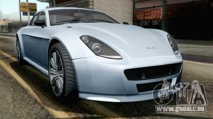 GTA 5 Dewbauchee Exemplar IVF pour GTA San Andreas