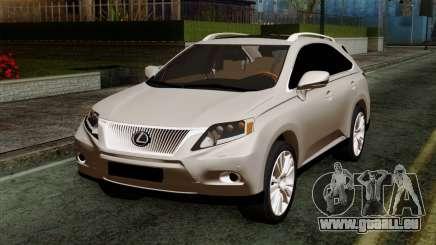 Lexus RX450H v2 für GTA San Andreas