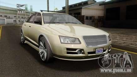 GTA 5 Obey Tailgater SA Mobile pour GTA San Andreas