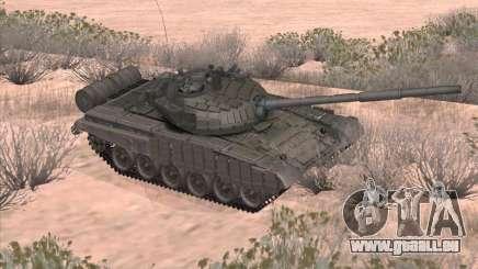Réservoir T-72B pour GTA San Andreas