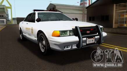 GTA 5 Vapid Stanier Sheriff SA Style pour GTA San Andreas