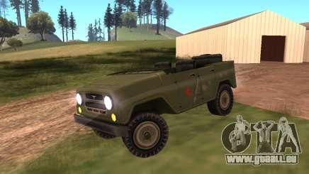 UAZ Militär für GTA San Andreas